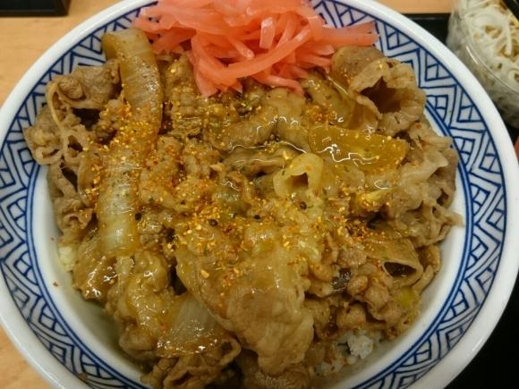 7/2  牛丼アタマの大盛豚汁Aセット + 生玉子 合計¥800 @吉野家_b0042308_19175284.jpg
