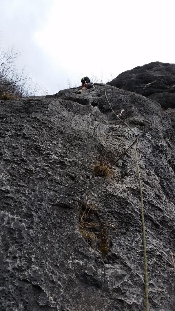 二子山西岳中央稜へ_b0133032_18542627.jpg