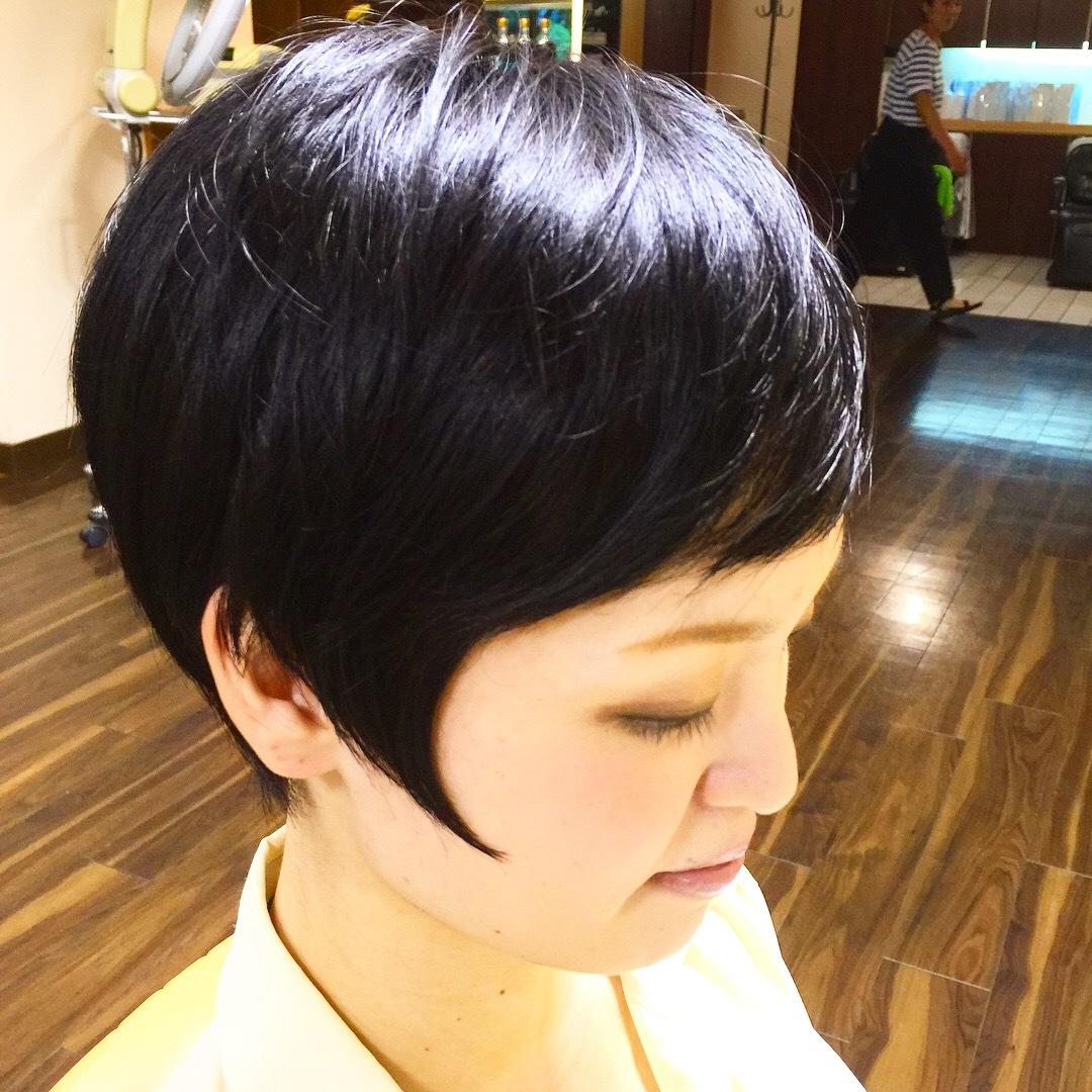 黒髪ショート_a0272765_10494256.jpg