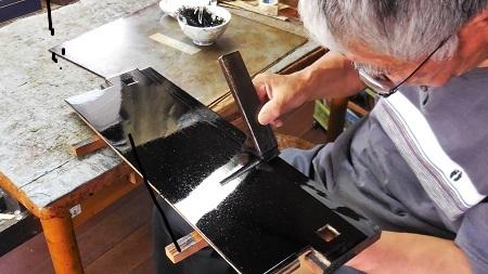 仏壇のすす洗い・修繕のお仕事 その3  2017.07.02_c0213599_01410441.jpg