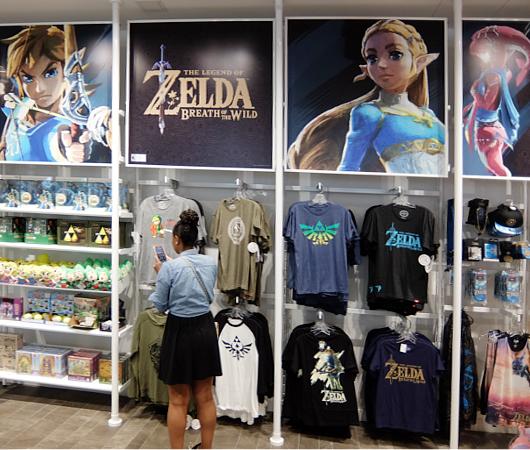 ただ今、絶好調の任天堂のニューヨークの直営店「任天堂ワールド」Nintendo World_b0007805_20472484.jpg