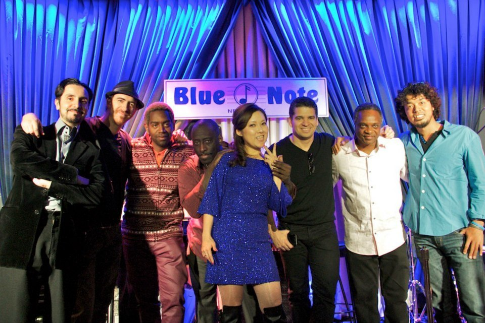 春のツアーの御礼, New Album とStacey Kent アルバム参加、New Yorkのライブ最新情報 NY Blue Note CD Release party_a0150139_03323105.jpg