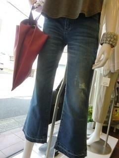 定番スタイル デニム&Tシャツ・・・・・☆_c0113499_14265768.jpg