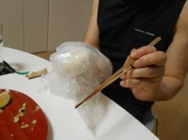のび丸、右手を骨折。それでも料理するのだ。_a0095931_13081601.jpg