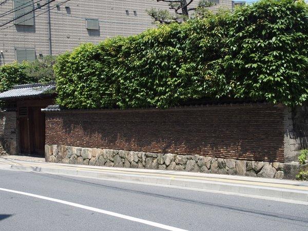 築地塀@上幟町_b0190540_061914.jpg