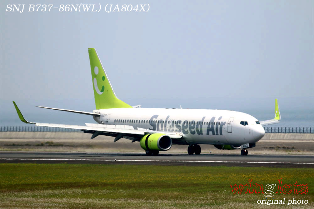 '17年 大分空港(RJFO)レポート ・・・ SNJ/JA804X_f0352866_22215724.jpg