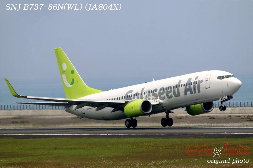 '17年 大分空港(RJFO)レポート ・・・ SNJ/JA804X_f0352866_22222138.jpg