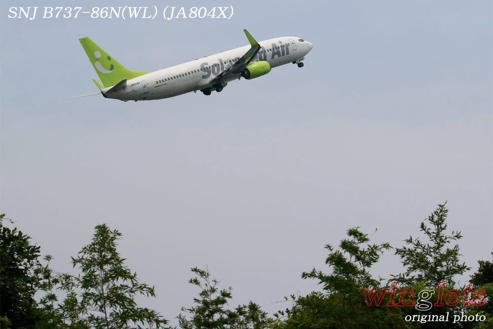 '17年 大分空港(RJFO)レポート ・・・ SNJ/JA804X_f0352866_22223314.jpg