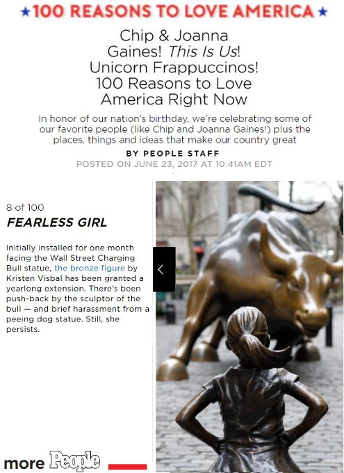 雑誌ピープルによる『アメリカを愛する100の理由』(100 reasons to love America)特集_b0007805_2034536.jpg