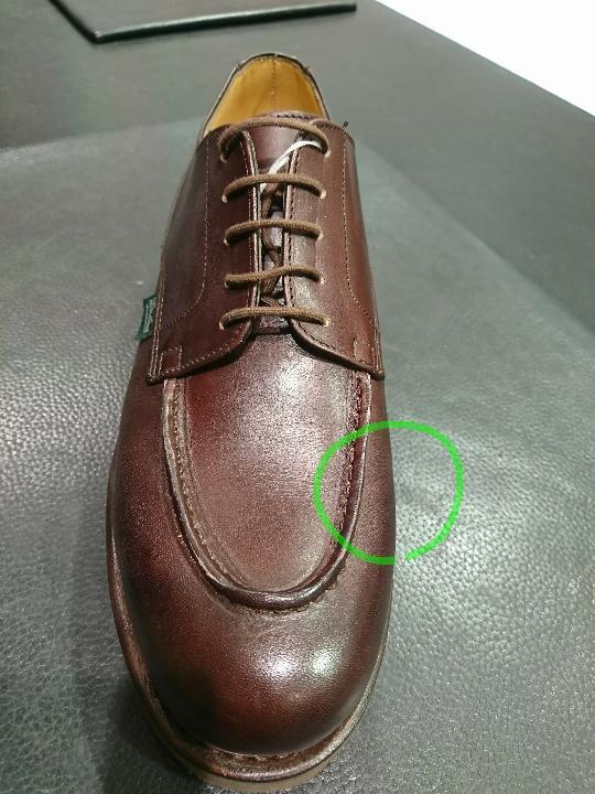 靴の中で足を安定させます。_b0226322_11412365.jpg