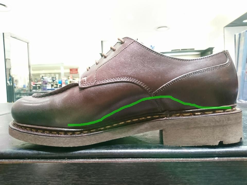 靴の中で足を安定させます。_b0226322_11491701.jpg