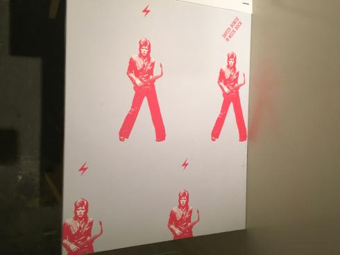 おやすみ日記 - 京都その2 david bowie by mick rock in アンテルーム_c0168222_15330897.jpg