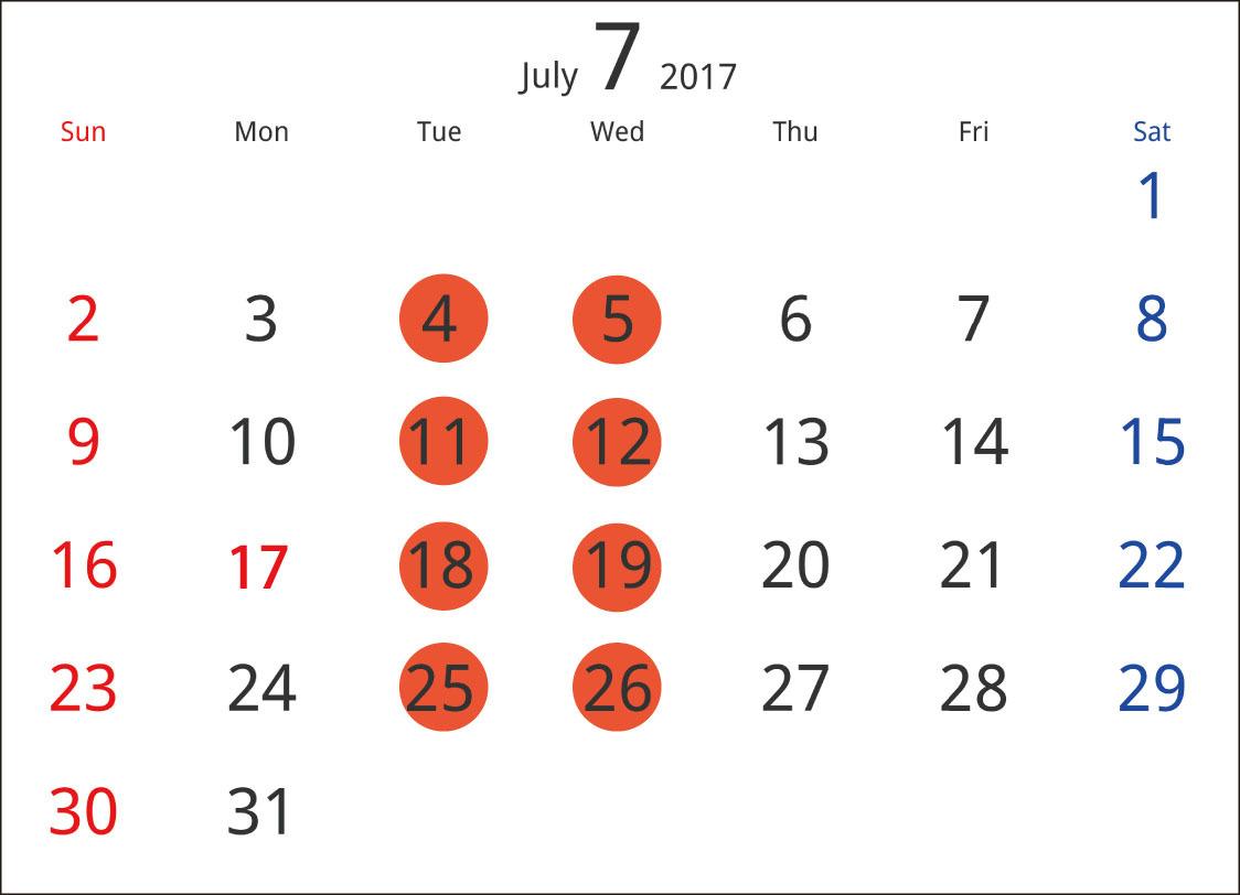 7月の営業日程_c0250976_22585769.jpg