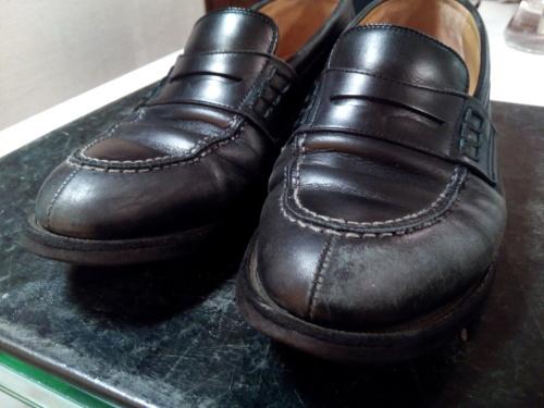 頑張った靴をしっかり黒く!②_d0166598_16123199.jpg