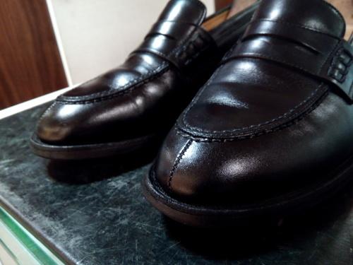 頑張った靴をしっかり黒く!②_d0166598_16131679.jpg