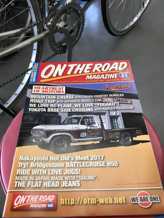 ON THEROAD MAGAZONE VOL.52 入荷_e0126901_12494275.jpg
