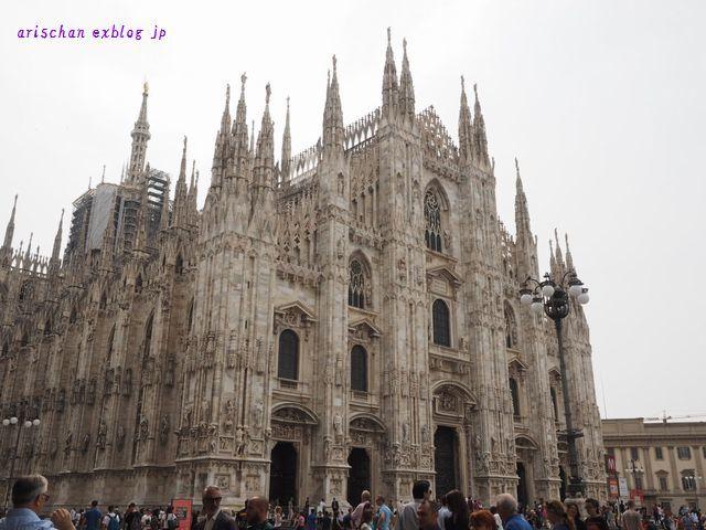 ミラノの大聖堂@イタリア旅行 : アリスのトリップ