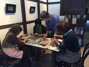 第44回むくのき俱楽部陶芸教室_f0233340_1525213.jpg
