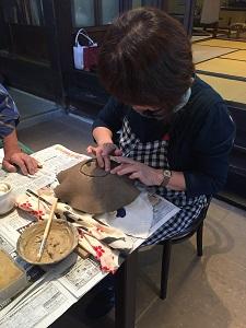 第44回むくのき俱楽部陶芸教室_f0233340_15253522.jpg
