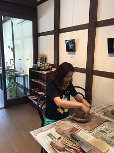 第44回むくのき俱楽部陶芸教室_f0233340_1531401.jpg