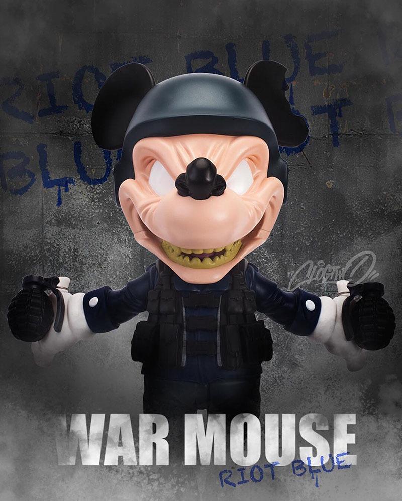 ウォー・マウス第3弾で最後のライオットブルー版、近日入荷_a0077842_20025895.jpg