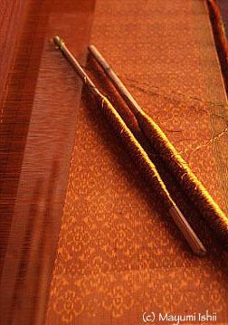 カンボジアの絹織物をなりわいとした森本喜久男さん_a0086851_02572478.jpg