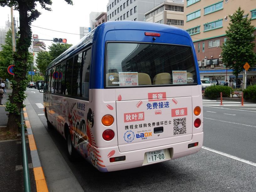 夕方のバスが増えてきたのは、都心のホテルが埋まらないせい?(ツアーバス路駐台数調査 2017年6月) _b0235153_16314853.jpg