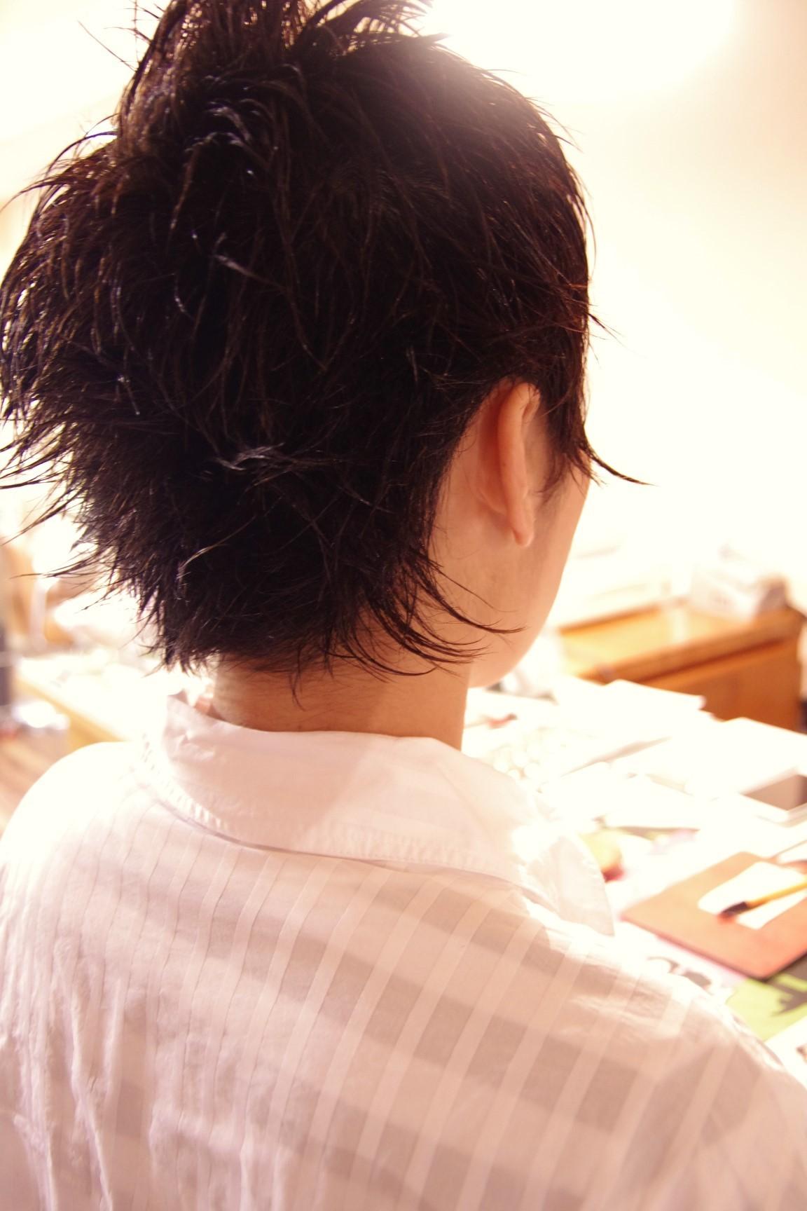 今日のショートスタイル☆_a0272765_17490668.jpg