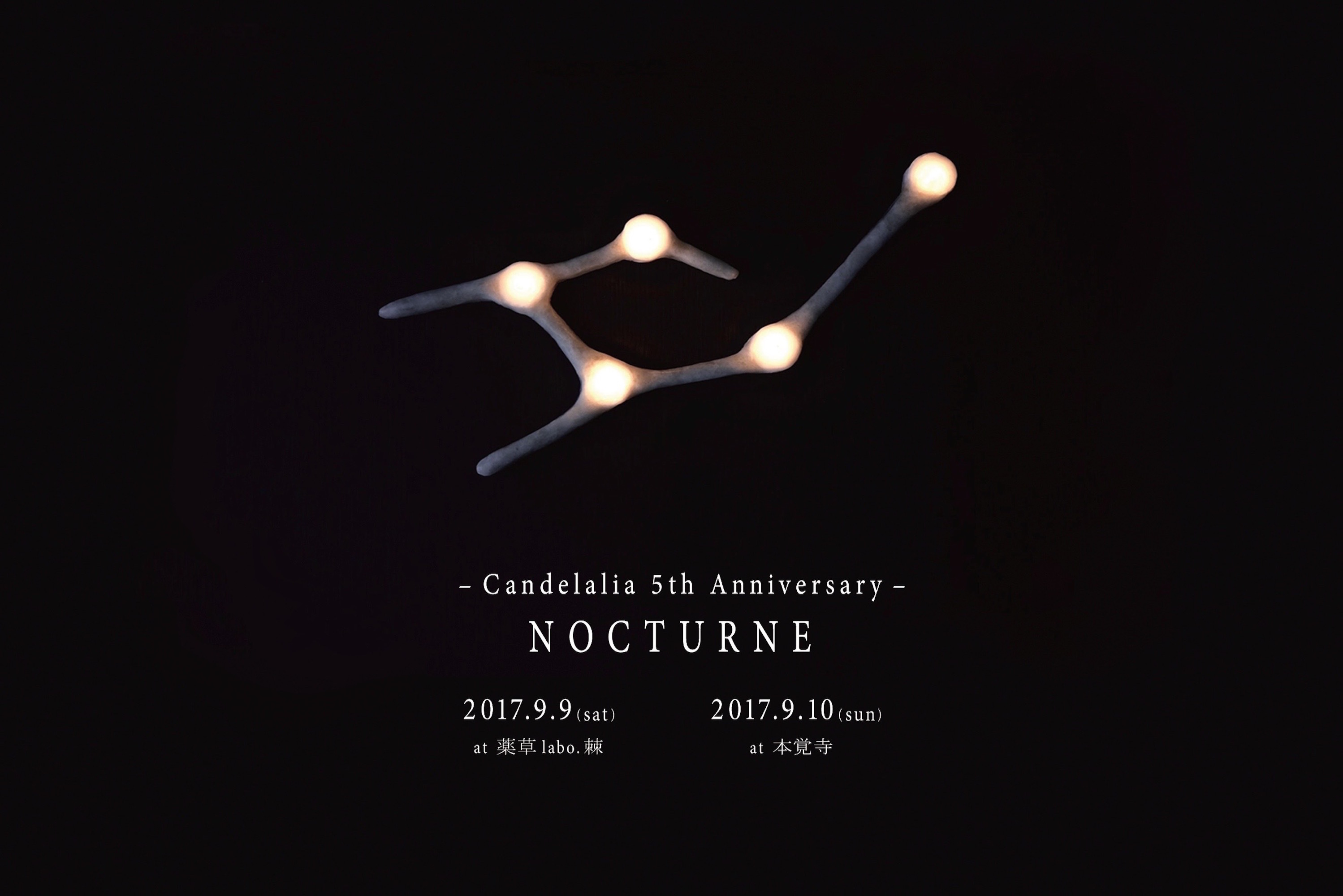 Candelalia 5th Anniversary_b0255623_01070714.jpg