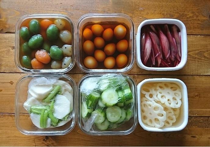 イエシゴトVol.222 今週の作りおき2と追加の梅シゴトと野菜の冷凍術_e0274872_18434192.jpg