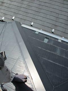 練馬区の北町で、屋根修理工事_c0223192_00491284.jpg