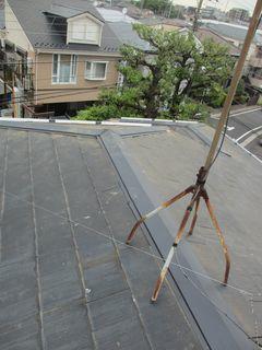 練馬区の北町で、屋根修理工事_c0223192_00493719.jpg