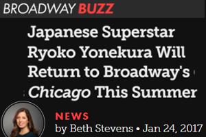 米倉涼子さん、ブロードウェイ・ミュージカル「シカゴ」に5年ぶりカムバック!!!_b0007805_2144430.jpg