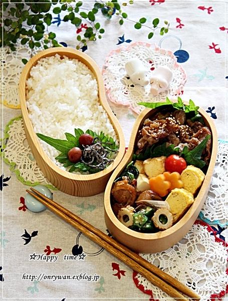 豚の生姜焼き弁当とおうち居酒屋♪_f0348032_18510117.jpg