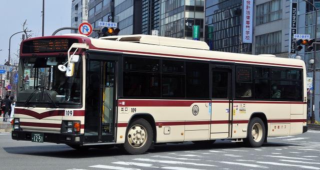 京都バス~ブルーリボンⅡワンステップバス  109_a0164734_20402699.jpg