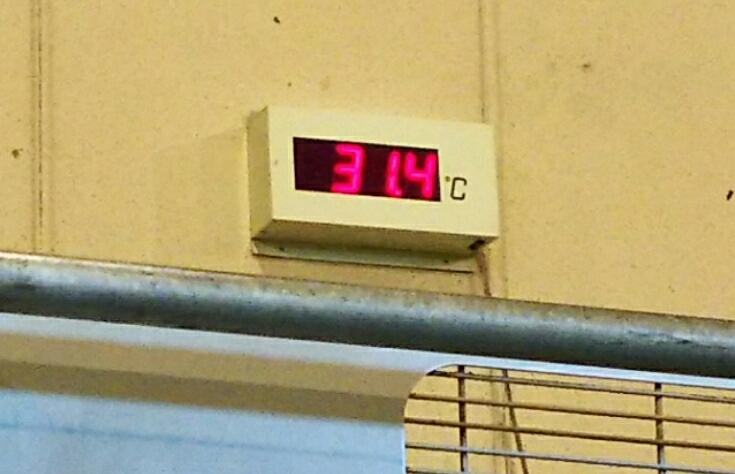 7/7(金)  暑いと思ったら…_a0272042_15563789.jpg