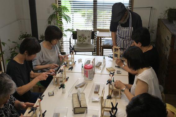 DIYワークショップ『ミニチュア椅子を作ろう!』7月の部が終了しました。_c0334574_19531678.jpg