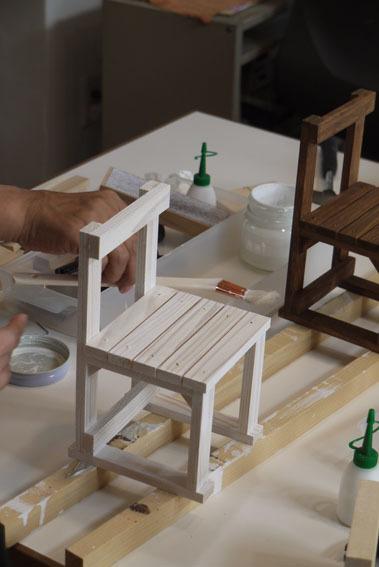 DIYワークショップ『ミニチュア椅子を作ろう!』7月の部が終了しました。_c0334574_19552662.jpg