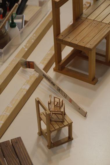 DIYワークショップ『ミニチュア椅子を作ろう!』7月の部が終了しました。_c0334574_19581958.jpg