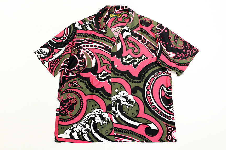 "HURRAY HURRAY (フレイ フレイ) "" JAPANESE PAISLEY OPEN COLLAR SHIRT \""_b0122806_14264710.jpg"