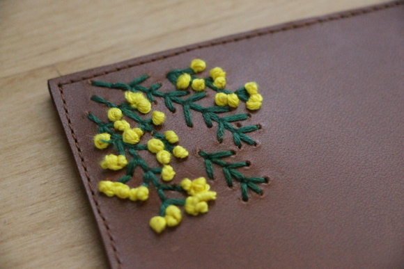 革に刺繍を・Cafe Otonova 4th anniversary_e0234741_14342346.jpg