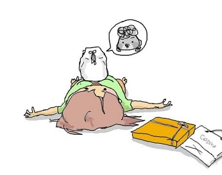 ゴディバの横で寝転んび思う事_f0096569_09313098.jpg