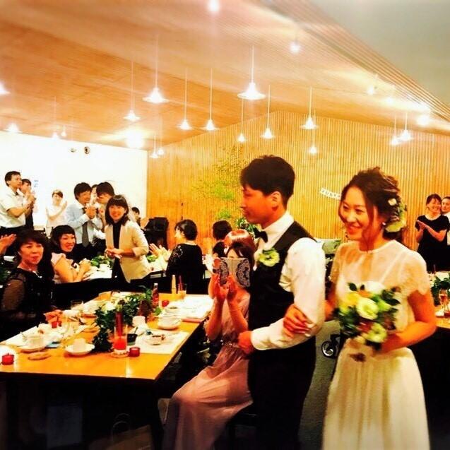 Happy Wedding!K&A~会費制パーティーウェディング_e0120789_18015842.jpg