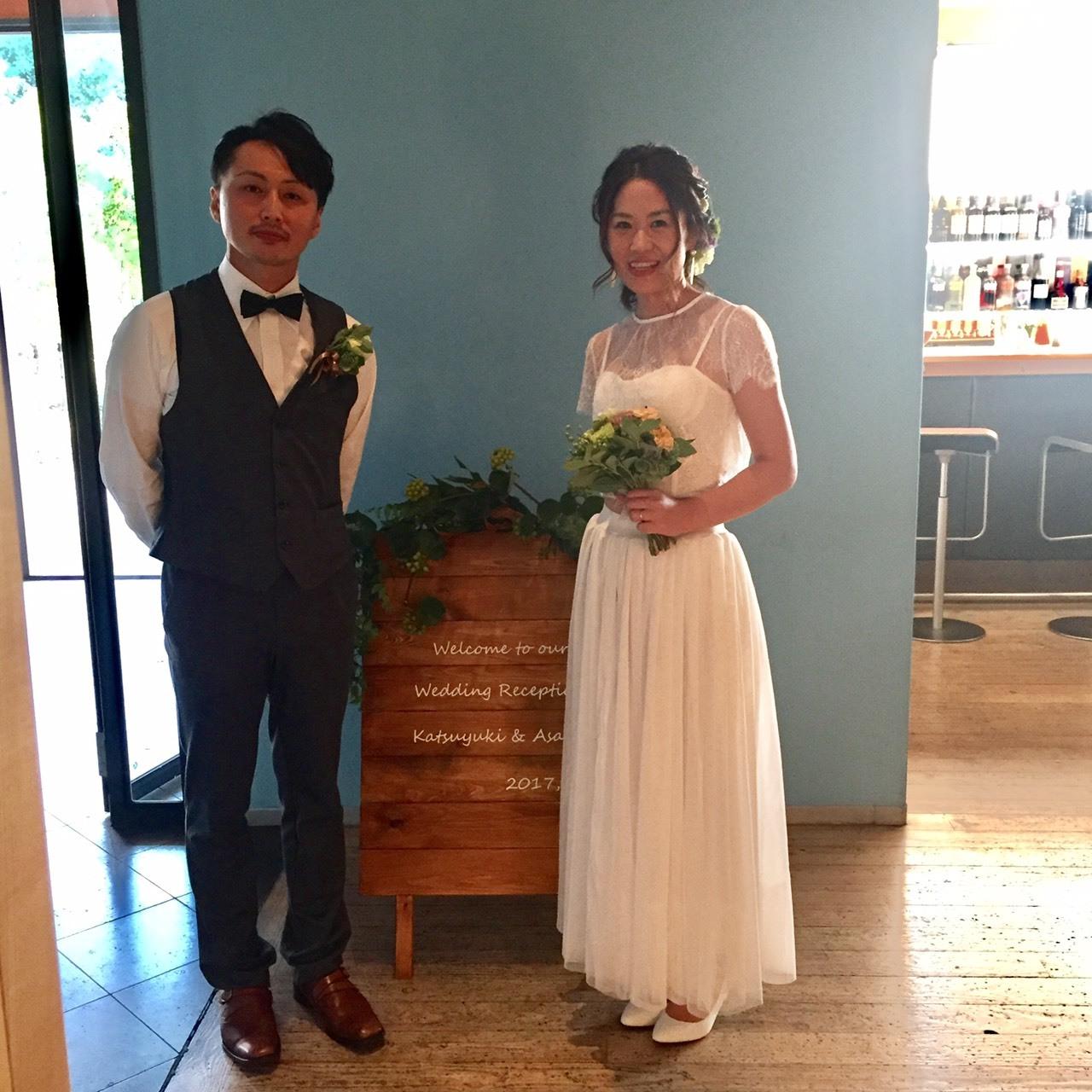 Happy Wedding!K&A~会費制パーティーウェディング_e0120789_18033939.jpg