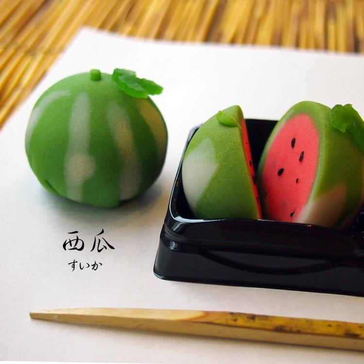 お題は「西瓜(すいか)」!県民共済親子和菓子作り体験@桜木町_e0092594_17031098.jpg