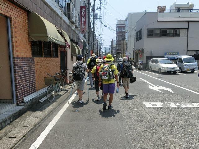 「かぐや姫の富士山への里帰り」 富士山登山ルート3776ツアーの皆さんを吉原商店街で歓迎_f0141310_06342102.jpg