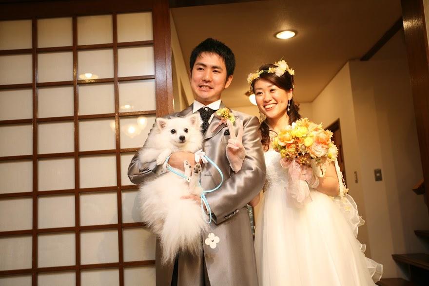 新郎新婦さまからのメール ロイストン教会の花嫁花婿様より 毎年結婚記念日に _a0042928_16143130.jpg