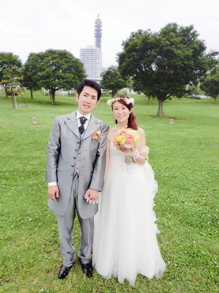 新郎新婦さまからのメール ロイストン教会の花嫁花婿様より 毎年結婚記念日に _a0042928_16221438.jpg