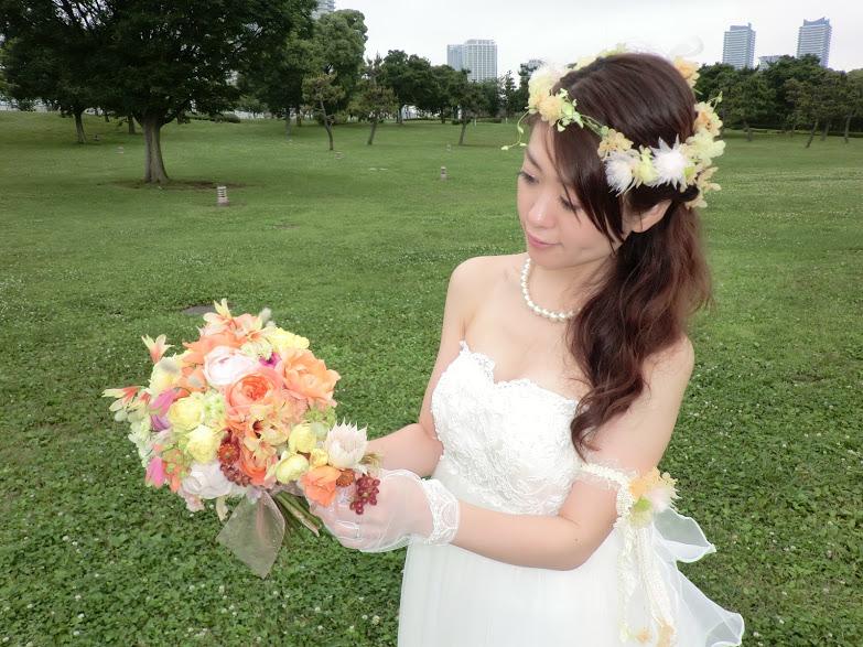 新郎新婦さまからのメール ロイストン教会の花嫁花婿様より 毎年結婚記念日に _a0042928_1623096.jpg
