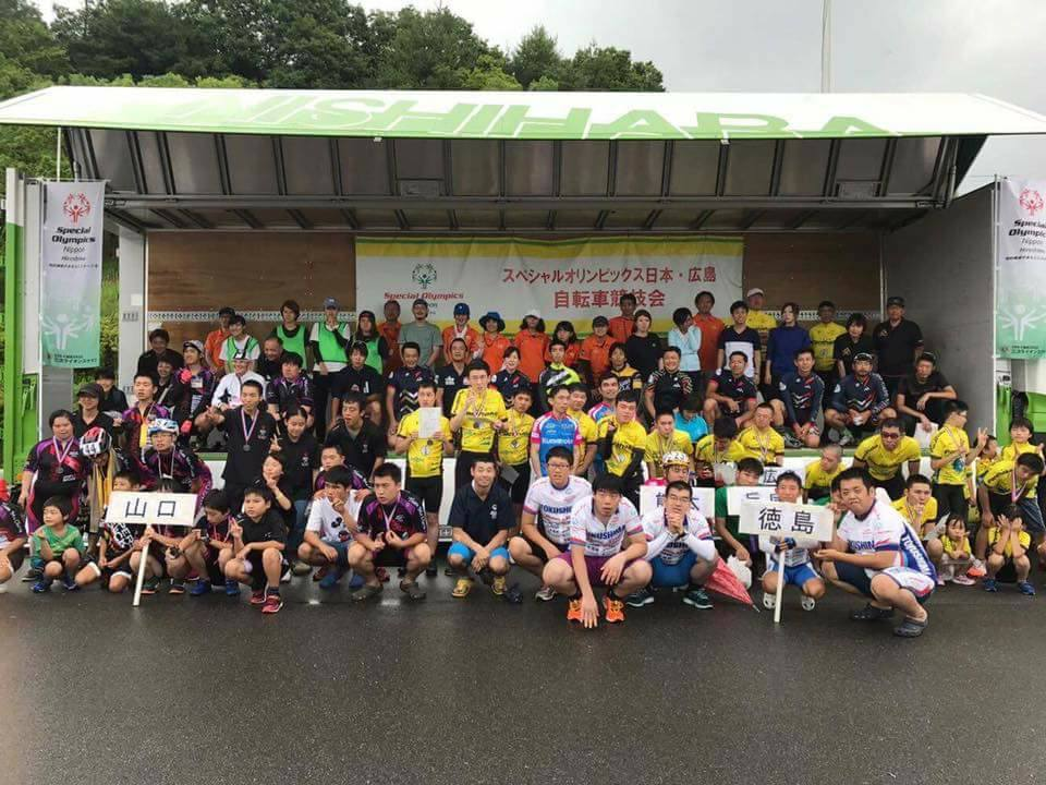 2017.07.09 スペシャルオリンピックス自転車競技会レポート_c0351373_18374612.jpg